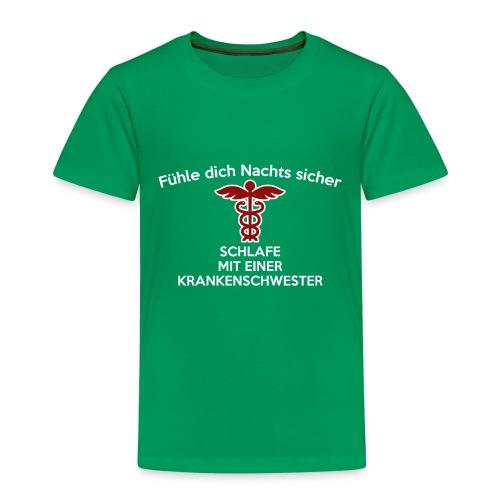 Fühle dich Nachts sicher, schlafe mit einer (...) - Kinder Premium T-Shirt