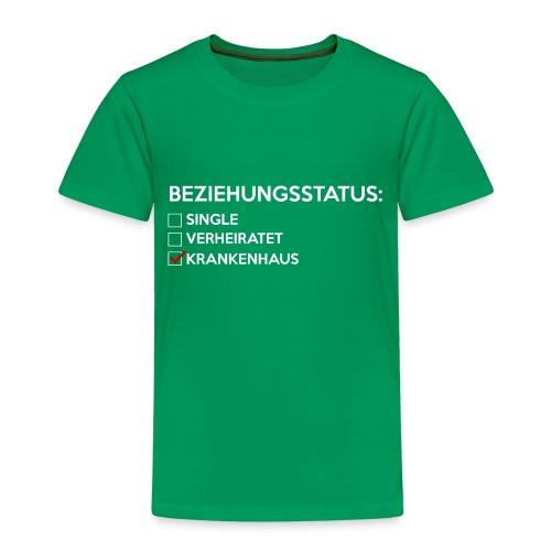 Beziehungsstatus - Krankenhaus - Kinder Premium T-Shirt