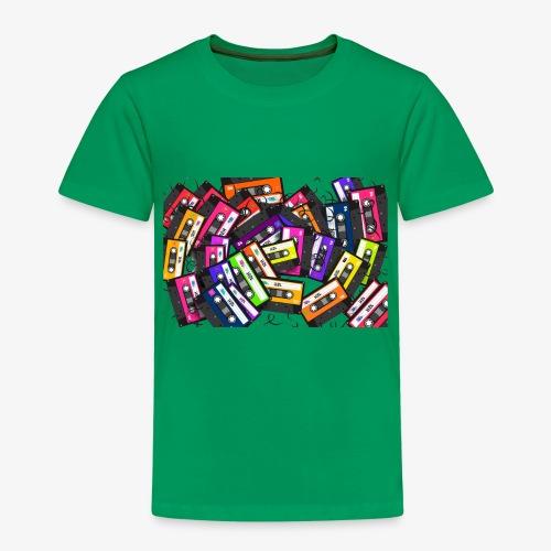 Cassetes - Camiseta premium niño
