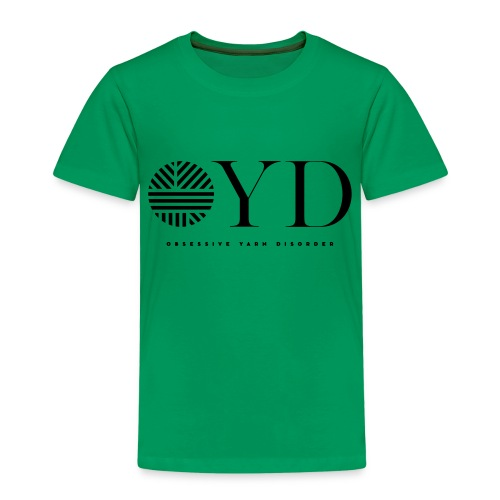 obsessive yarn disorder - OYD - Kinder Premium T-Shirt
