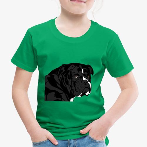 bulldog noir - T-shirt Premium Enfant