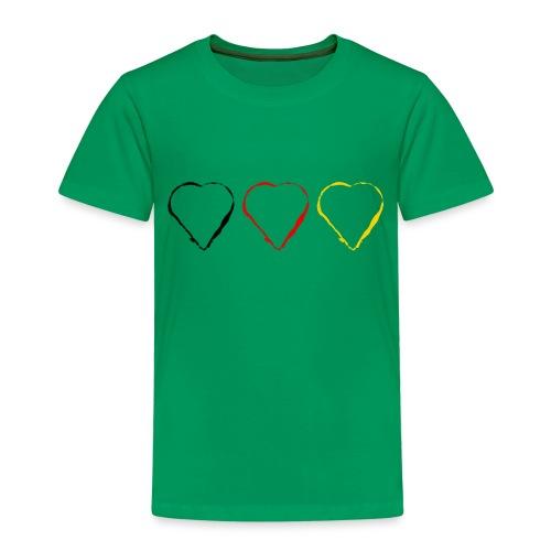 3 Herzen Deutschland #1 - Kinder Premium T-Shirt