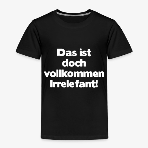Der Irrelefant - Kinder Premium T-Shirt