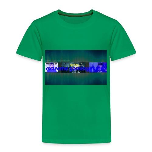 YouTube Channel Art Template 1 jpg - Børne premium T-shirt