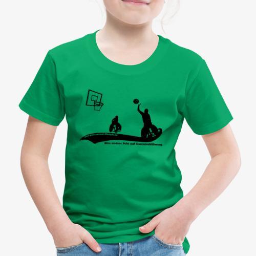 PNL Rollstuhlbasketball black - Kinder Premium T-Shirt