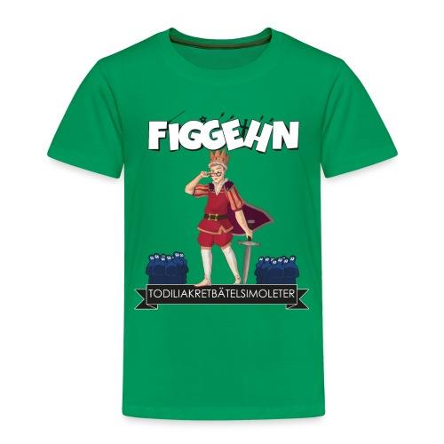 tabstryck - Premium-T-shirt barn