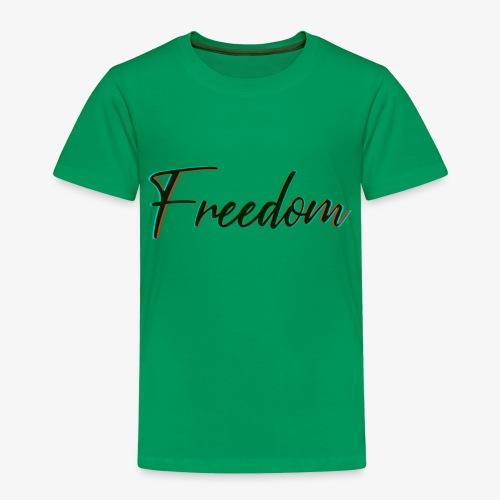 freedom - Maglietta Premium per bambini