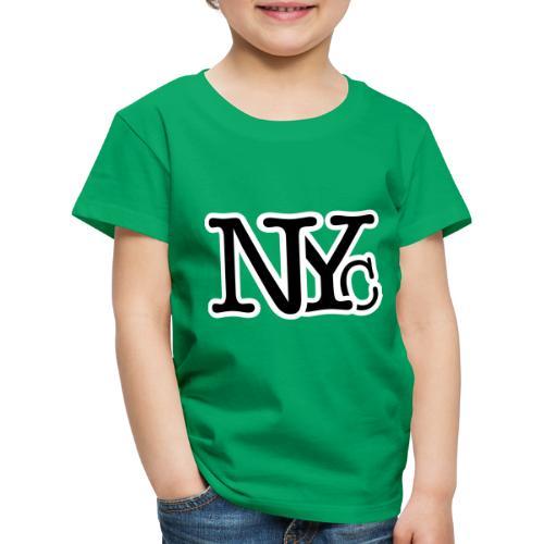 NYC textart - Kinderen Premium T-shirt