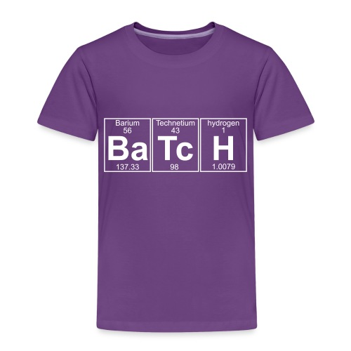 Ba-Tc-H (batch) - Full - Kids' Premium T-Shirt