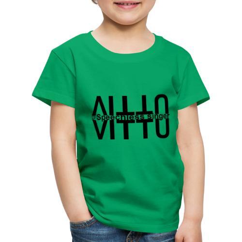 Mustat vitut vastakkain - Lasten premium t-paita