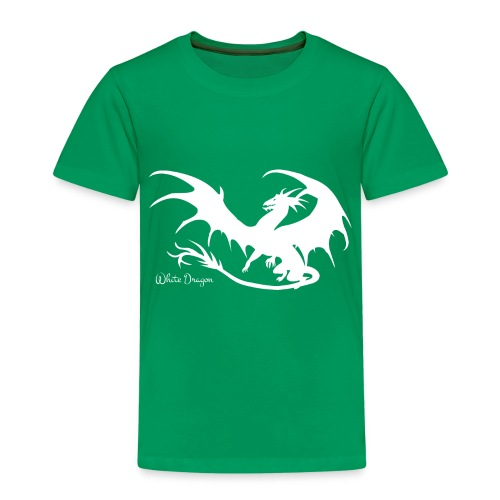 Weisser Drache - Kinder Premium T-Shirt