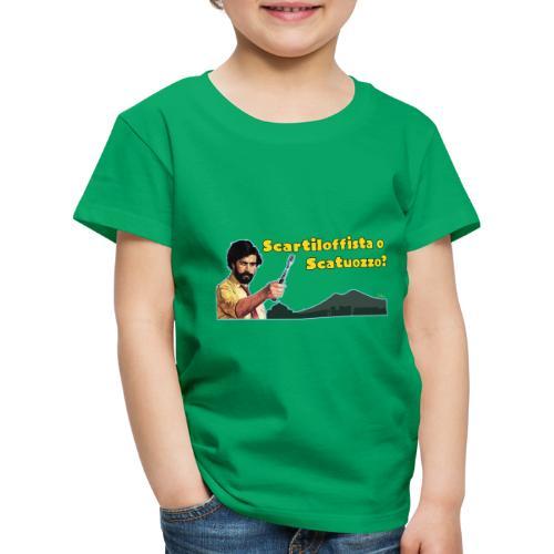 Scartiloffista o Scatuozzo? - Maglietta Premium per bambini