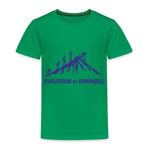 Evolution Downhill Biking - Kinder Premium T-Shirt