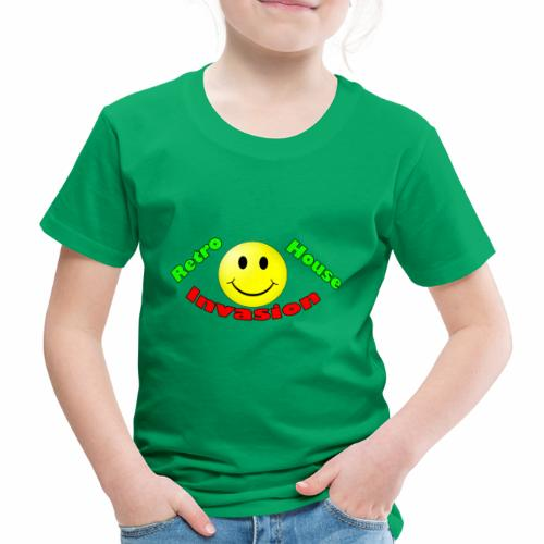 Retro House Invasion - Kinderen Premium T-shirt
