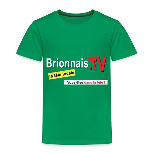 BTV logo shirt dos - T-shirt Premium Enfant