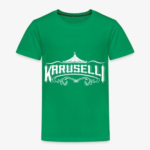 Karuselli - Lasten premium t-paita