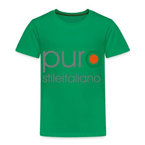 puro stile italiano - Maglietta Premium per bambini