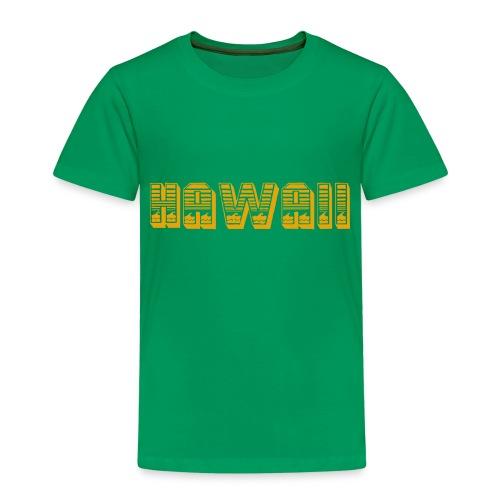 Hawaii - Kinder Premium T-Shirt