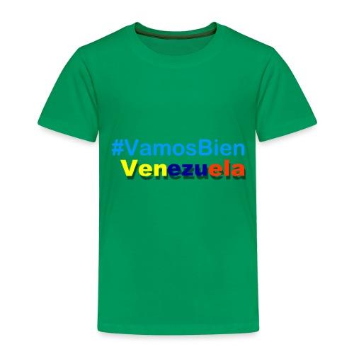 #vamosBien - Camiseta premium niño