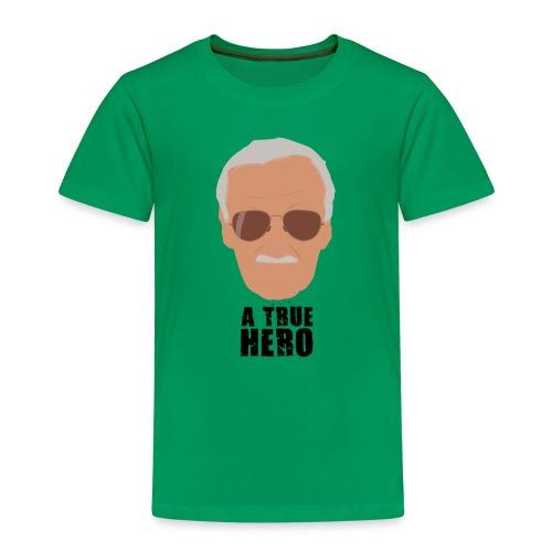 Un verdadero héroe del cómic a color - Camiseta premium niño