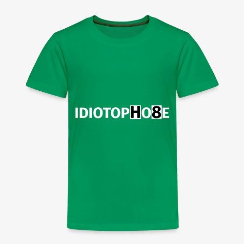 IDIOTOPHOBE2 - Kids' Premium T-Shirt