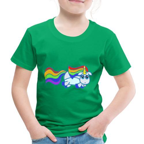 Nyan unicorn - Maglietta Premium per bambini