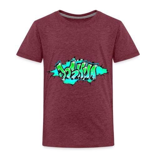 GRAFFITI JOSHUA PRINTABLE WALL BROKE - T-shirt Premium Enfant