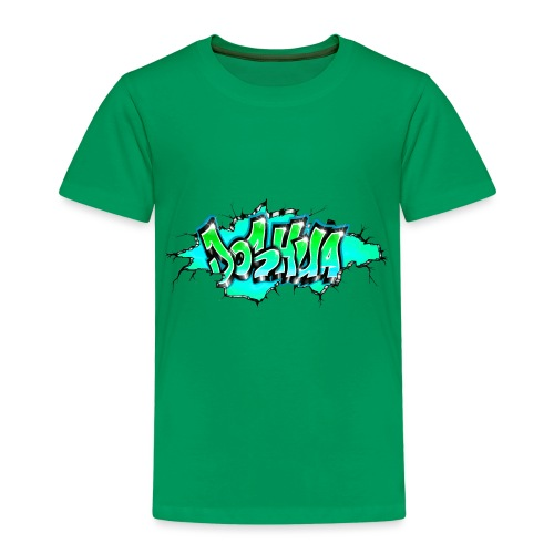 GRAFFITI JOSHUA PRINTABLE WALL BROKE - T-shirt Premium Enfant