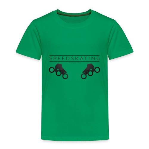 Speedskating Professional Black - Kinder Premium T-Shirt