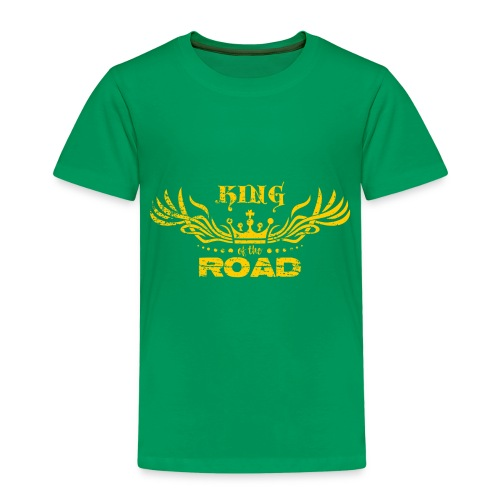King of the road light - Kinderen Premium T-shirt