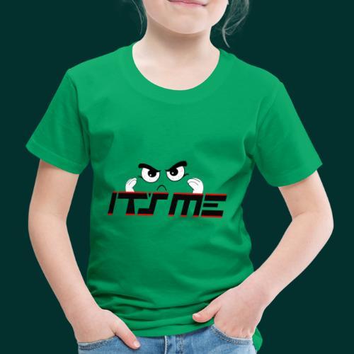 Faccia arrabbiata - Maglietta Premium per bambini