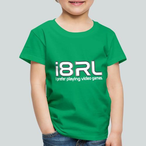 i8RL - I prefer playing video games. - T-shirt Premium Enfant