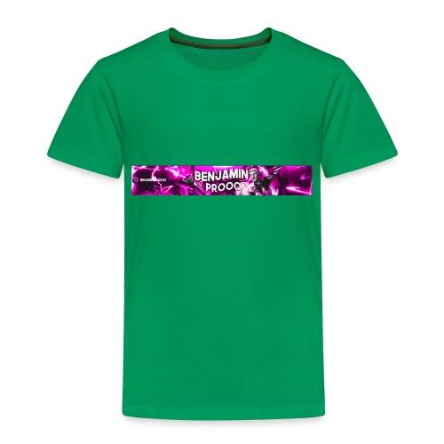 Baner del canal - Camiseta premium niño