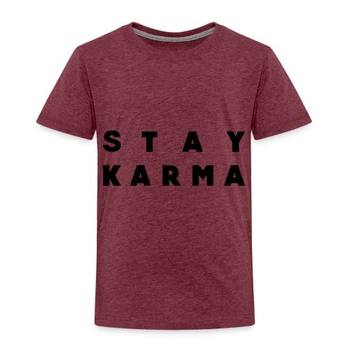 Stay Karma - Maglietta Premium per bambini