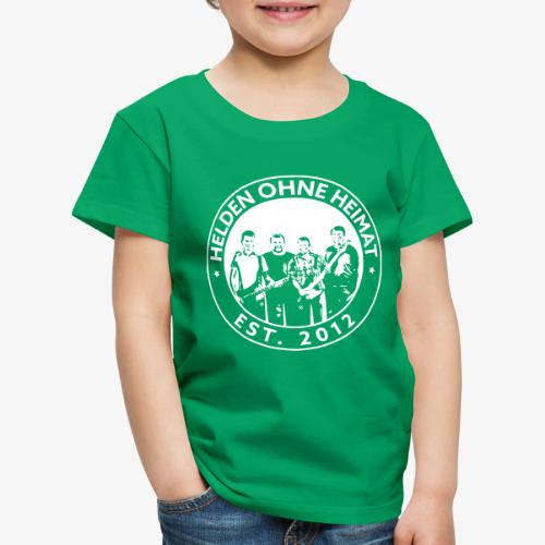 Helden Ohne Heimat Emblem - Kinder Premium T-Shirt