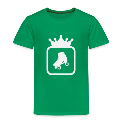 Speedskater Skating Krone - Kinder Premium T-Shirt