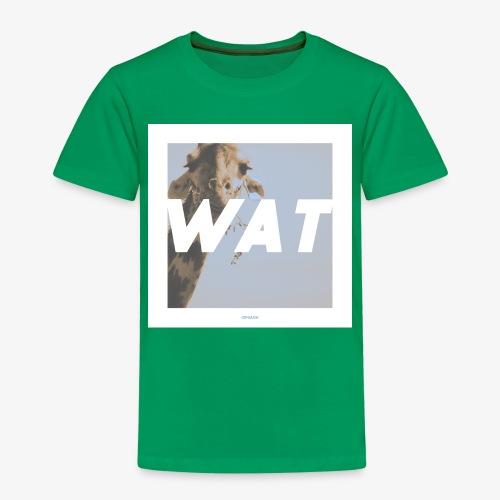 WAT #01 - Kinder Premium T-Shirt