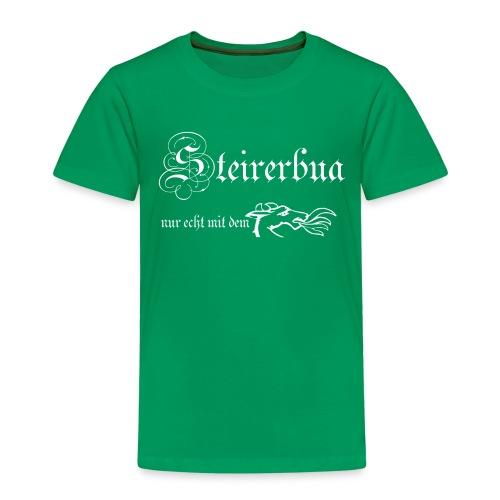 steirerbua w - Kinder Premium T-Shirt