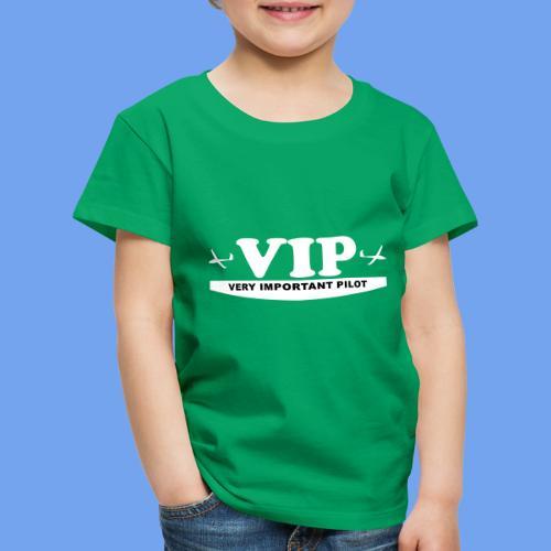 VIP Segelflieger gleiten lustig Segelflugzeug - Kinder Premium T-Shirt