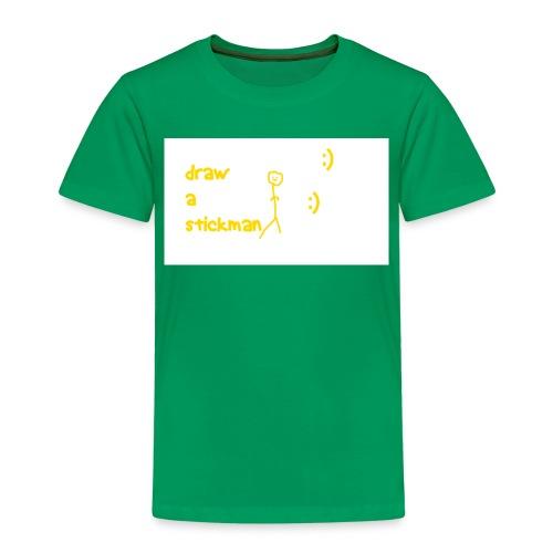 draw a stickman png - Kids' Premium T-Shirt