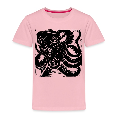 Museum Collection Octopus - Kids' Premium T-Shirt