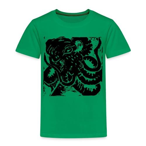 Museum Collection Octopus - Kids' Premium T-Shirt
