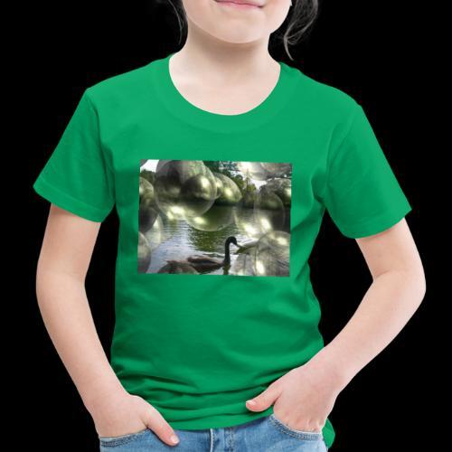 Blasen und Schwäne - Kinder Premium T-Shirt
