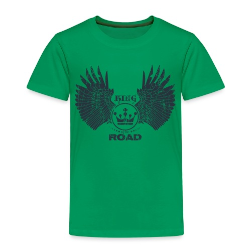 WINGS King of the road dark - Kinderen Premium T-shirt