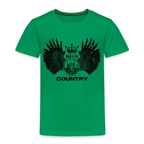 IH King of the country (black design) - Kinderen Premium T-shirt