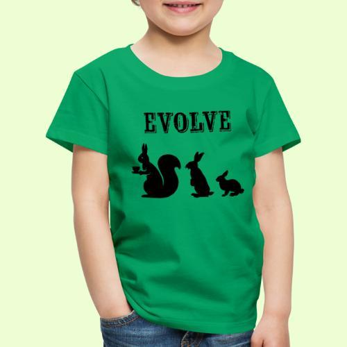 EvolveBunny - Kinderen Premium T-shirt