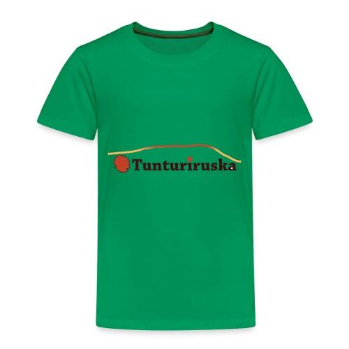 Tunturiruska - Lasten premium t-paita