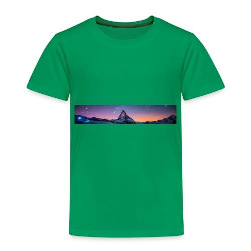 Mountain sky - Kinder Premium T-Shirt