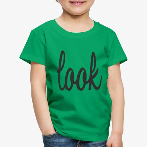 Look - Camiseta premium niño