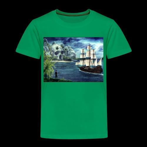 Isola - Maglietta Premium per bambini